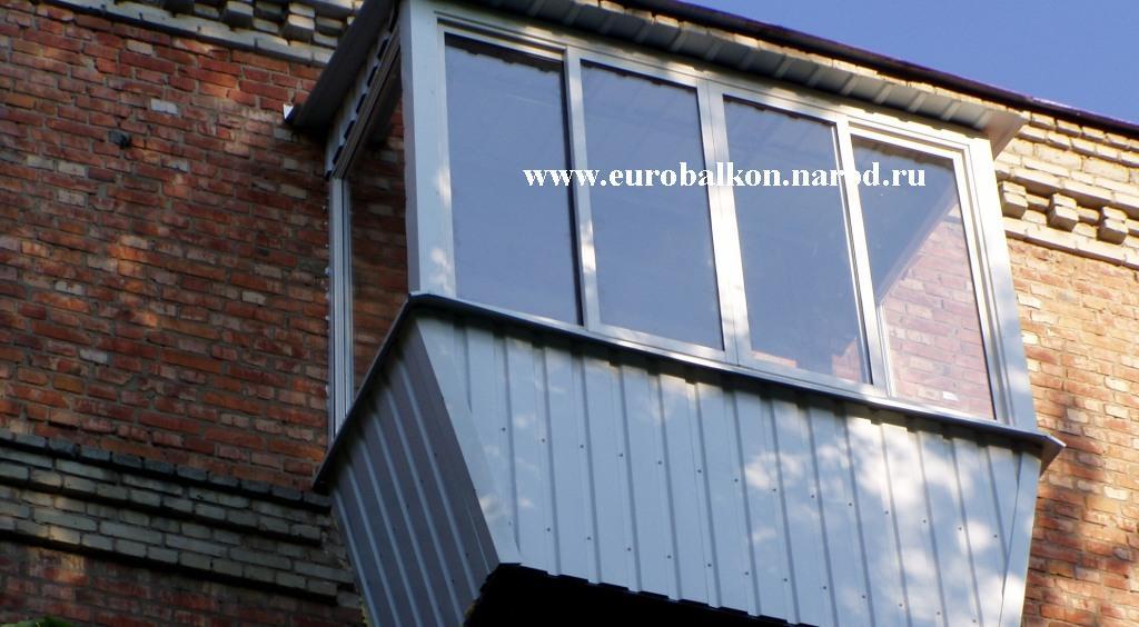Фото новых металлокаркасов, крыши, наружнаЯ обшивка балконов.