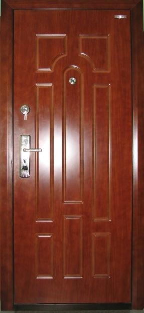 Накладка на металлическую дверь своими руками